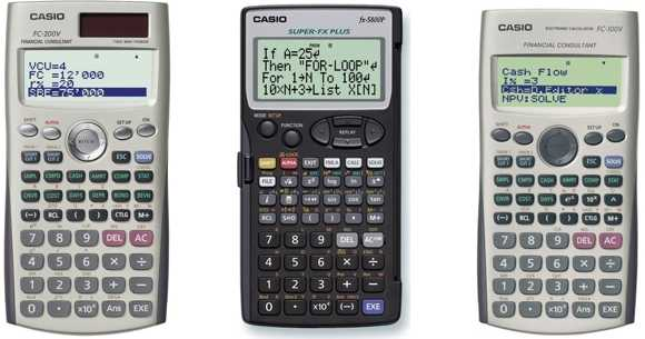 Hiraoka Calculadoras Casio Financieras