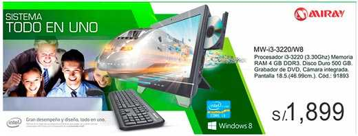 Oferta de PC all-in-one todo en uno