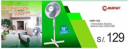 Ofertas de ventiladores