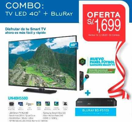Ofertas de BlueRay con televisor
