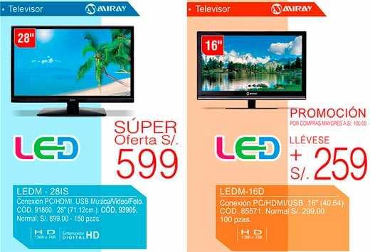 Televisores LED MIRAY