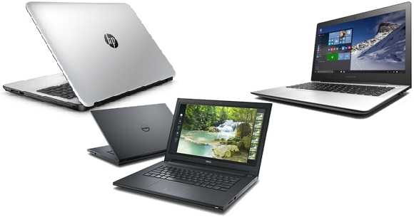 Laptop Lenovo, HP, Dell