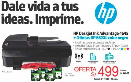 HP impresoras multifunción