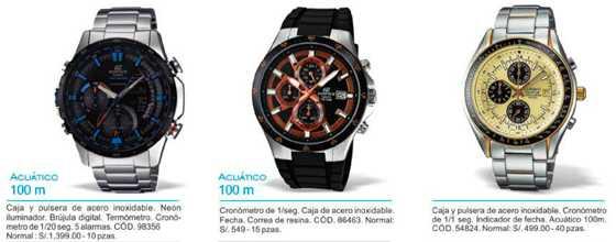 Comprar relojes Casio en Hiraoka