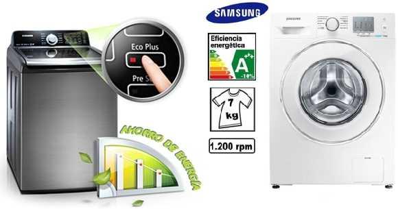 Lavadoras Hiraoka con Eficiencia energética