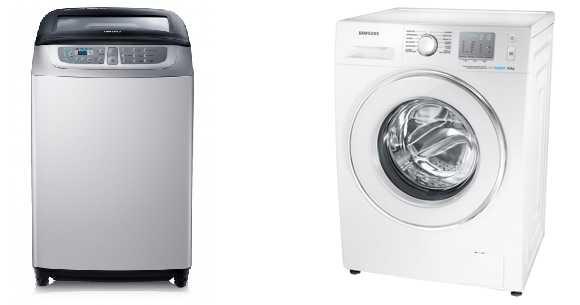 lavadoras samsung hiraoka de carga frontal o superior