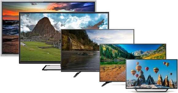 Smart tv de entre 40 y 65 Pulgadas