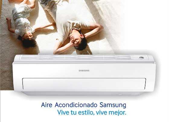Ofertas de aires acondicionados Samsung