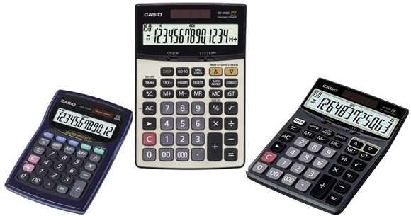 Hiraoka Calculadora Casio de mesa