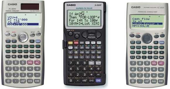 Hiraoka Calculadoras Casio Financieras
