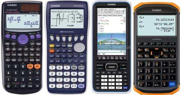 Calculadoras Casio científicas en Hiraoka