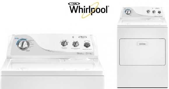 Secadora de ropa a gas Whirlpool