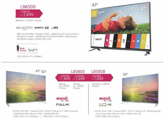 LG televisores LED TV