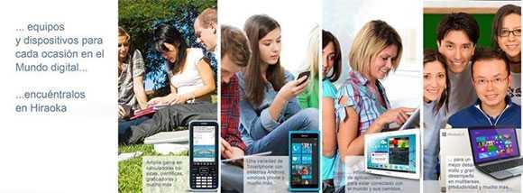 Catálogo de celulares Hiraoka