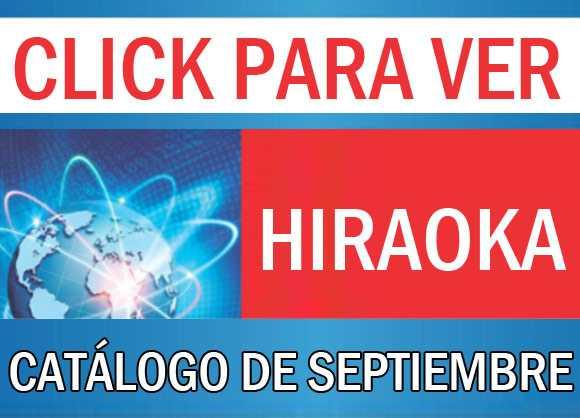 Catálogo Hiraoka setiembre 2016