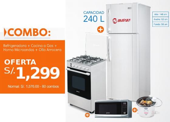 Cocina, Refrigerador y varios electrodomésticos más