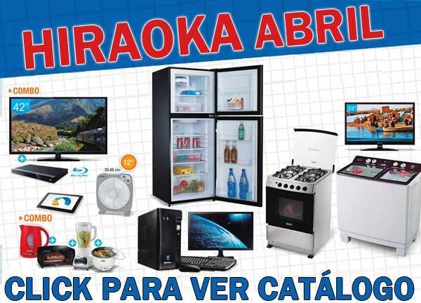 Hiraoka catálogo abril