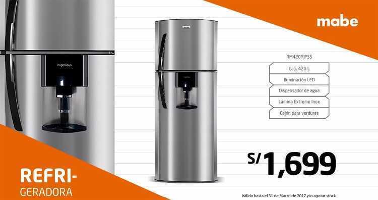 Hiraoka refrigeradoras Mabe