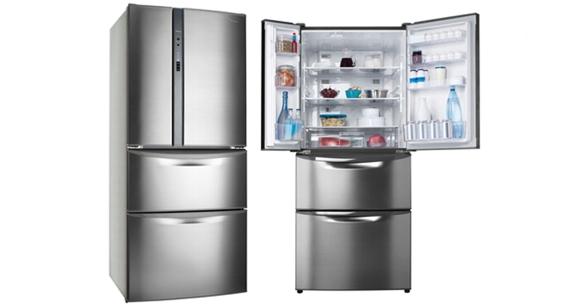 Hiraoka Refrigeradoras Panasonic de 4 Puertas