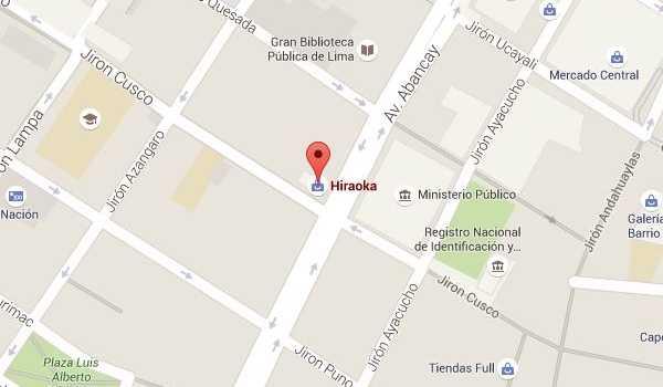 Importaciones Hiraoka tienda Lima