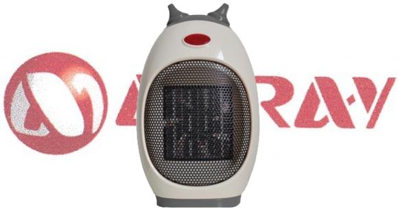 En Aire Acondicionado Hiraoka Termo Ventilador pequeño y eficiente Miray