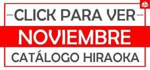 Hiraoka noviembre catalogo online