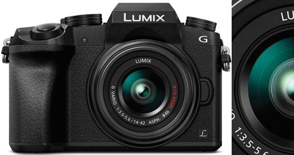 Cámara digital semi profesional Lumix