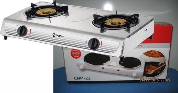 Modelos cocinas de mesa a gas Miray