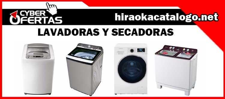 Lavadoras Hiraoka secadoras