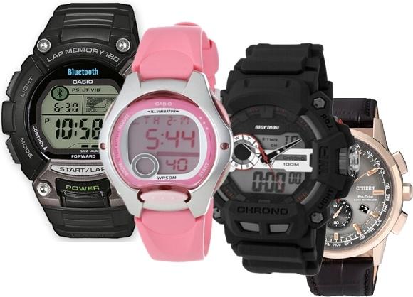 Relojes hiraoka sport para hombres y mujeres