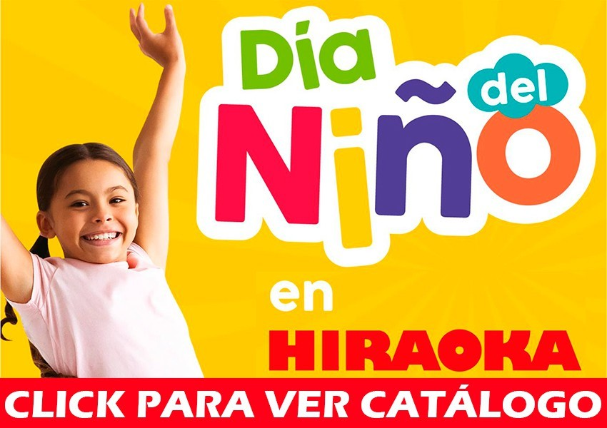Catalogo Hiraoka Día del Niño Perú